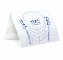 NSI Balance UV Gel Platinum- hõbedased küünevormid 300 tk